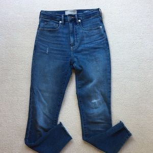 Everlane high rise skinny jeans size 25